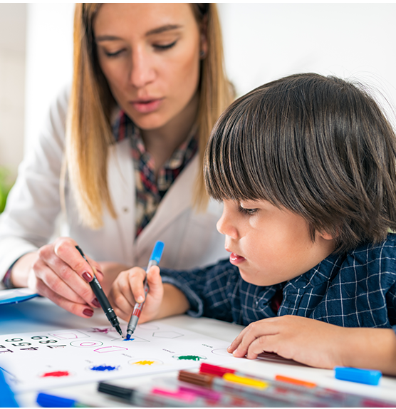 Multip-speciality services for children with autism